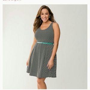 Lane Bryant polka dot dress size 20